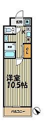 YAMASHIN・北鎌倉[206号室]の間取り