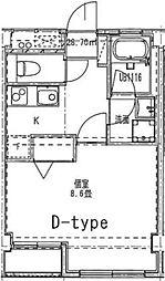 リヴェール弘明寺[306号室]の間取り