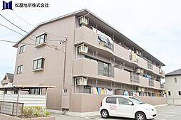 愛知県豊橋市弥生町字東豊和の賃貸マンションの外観