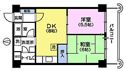タカノビル[5階]の間取り