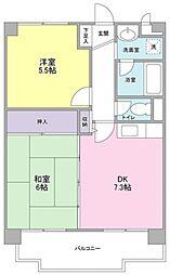 サンコール青葉台[3階]の間取り