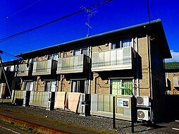 茨城県結城市下り松6丁目の賃貸アパートの外観