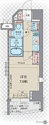 プレスタイル入谷II[5階]の間取り
