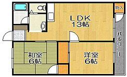 南田島ビル[211号室]の間取り