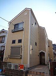 東京都八王子市千人町3丁目の賃貸アパートの外観