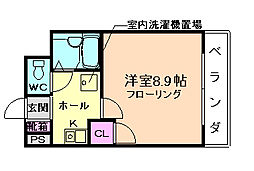 FLOSI[5階]の間取り