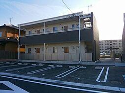 愛知県岡崎市城南町2丁目の賃貸アパートの外観