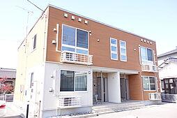 新潟県新発田市本町4丁目の賃貸アパートの外観