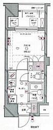 パレ・ソレイユ日本橋三越前[2階]の間取り