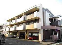 神奈川県横浜市青葉区すすき野1丁目の賃貸マンションの外観