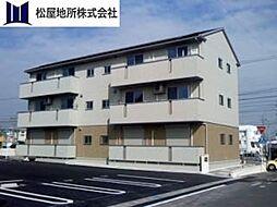 愛知県豊橋市柱三番町の賃貸アパートの外観