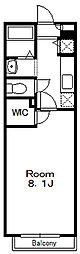アッパーコート[1階]の間取り