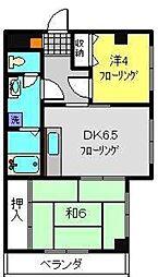 パークシティ96[3階]の間取り