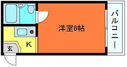 ダイドーメゾン六甲[1階]の間取り