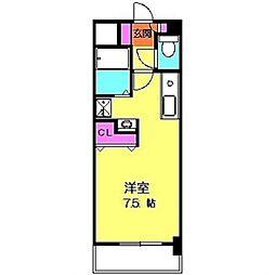PRIM ROSE・M壱番館[306号室]の間取り