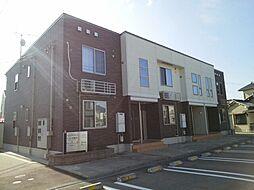 富山県富山市荒川常盤台の賃貸アパートの外観