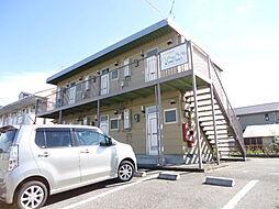 滋賀県彦根市松原1丁目の賃貸アパートの外観