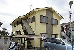東京都羽村市川崎4丁目の賃貸アパートの外観