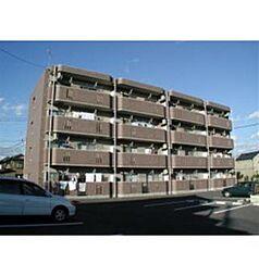 栃木県栃木市薗部町2丁目の賃貸マンションの外観