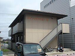 栃木県下野市医大前2丁目の賃貸アパートの外観