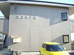 愛知県岡崎市小針町の賃貸アパートの外観