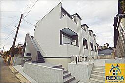 千葉県千葉市花見川区南花園1丁目の賃貸アパートの外観