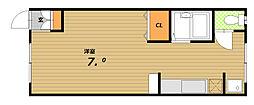 井原ビル[3階]の間取り