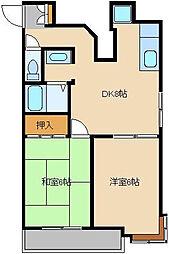 第7むさしマンション[504号室]の間取り