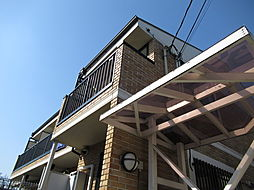 東京都大田区南馬込1丁目の賃貸アパートの外観