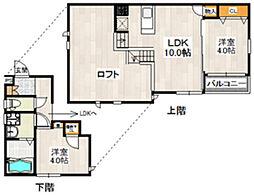 CB箱崎ソルテ[1階]の間取り
