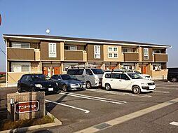愛知県豊田市堤町大塚の賃貸アパートの外観