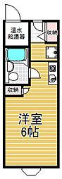 大阪府東大阪市近江堂2丁目の賃貸マンションの間取り