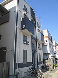 神奈川県横浜市鶴見区鶴見中央2の賃貸アパートの外観