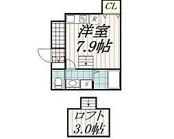 カッシーニ[1階]の間取り