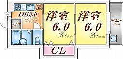 エーデルハイム須磨[1階]の間取り