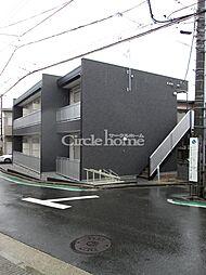 神奈川県横浜市西区東久保町の賃貸アパートの外観