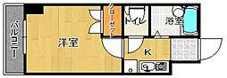 マンション花房[4階]の間取り