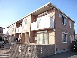 岡山県倉敷市神田1の賃貸アパートの外観