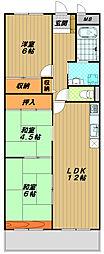 サンハイツ大塚[3階]の間取り