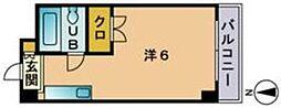 陣川ビル[303号室]の間取り