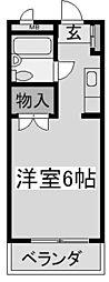 神奈川県川崎市多摩区菅野戸呂の賃貸マンションの間取り
