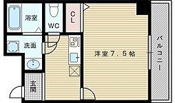 ヒルズ小松[8階]の間取り
