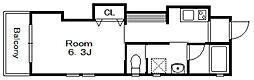 ボナ・クオリアIX[2階]の間取り