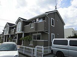 埼玉県狭山市根岸2丁目の賃貸アパートの外観