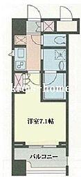 東京都文京区大塚3丁目の賃貸マンションの間取り