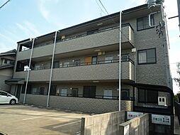 愛知県北名古屋市井瀬木居屋敷の賃貸マンションの外観
