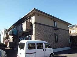 埼玉県戸田市美女木5丁目の賃貸アパートの外観