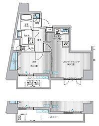 カーサラスク目白台[3階]の間取り