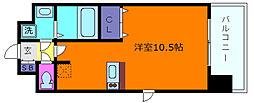 プレサンスKOBEアモーレ[8階]の間取り