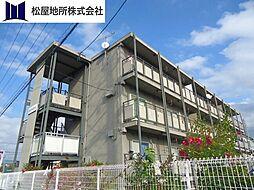 愛知県豊橋市東岩田3丁目の賃貸アパートの外観